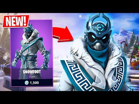 New Snowfoot Skin! (Fortnite Live Gameplay) - UC2wKfjlioOCLP4xQMOWNcgg