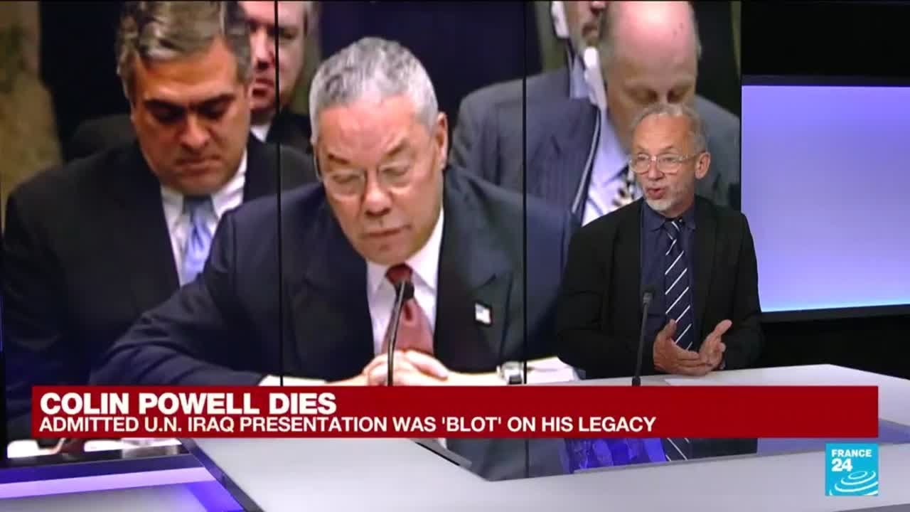 Colin Powell, America's first Black secretary of state, dies at 84 • FRANCE 24 English