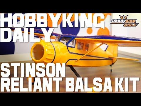 HK Stinson Reliant Balsa Kit - HobbyKing Daily - UCkNMDHVq-_6aJEh2uRBbRmw