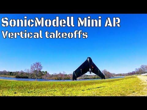Mini AR wing vertical takeoffs - UCxpLJwB36ocZ3ap3d2oc82A
