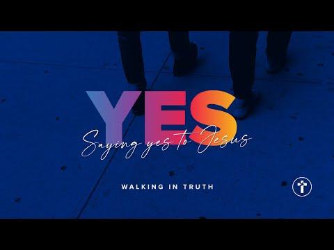 Saying YES to Jesus!  Louis Kotz