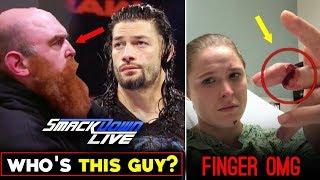 REASON Why WWE Secretly Revealed Roman Attacker? Ronda Rousey Finger Injury - Smackdown 20 Aug 2019