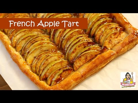 French Apple Tart ~ Puff Pastry ~ Amy Learns to Cook