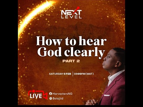 How To Hear God Clearly Pt 2  Pst Bolaji Idowu