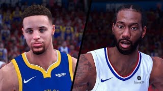 Golden State Warriors vs. Los Angeles Clippers - Game 7 - 2020 NBA Conf. Finals! - Full Gameplay