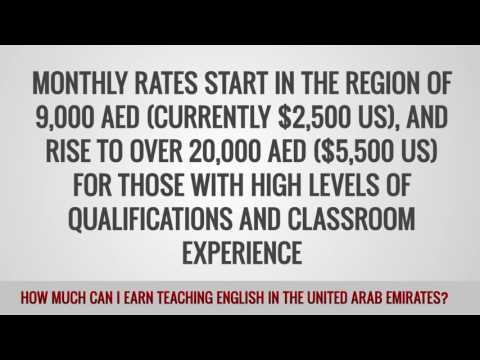 video about the amount of money you can get in the UAE
