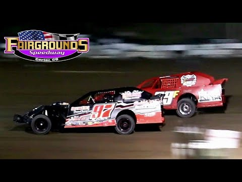 Fairgrounds Speedway IMCA Northern SportMod Main Event 8/13/21 - dirt track racing video image