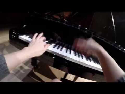 "GoPro Hands View Beethoven Sonata No. 17 ""Tempest"" Lisitsa"
