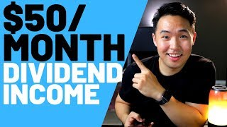 Earning $50 Monthly Dividend Income Robinhood App 2019