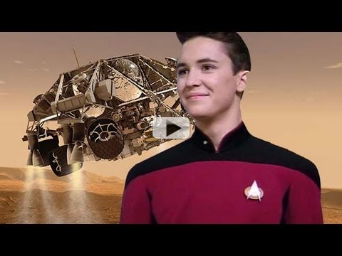 Wesley Crusher and Curiosity's Red Planet Landing | Video - UCVTomc35agH1SM6kCKzwW_g