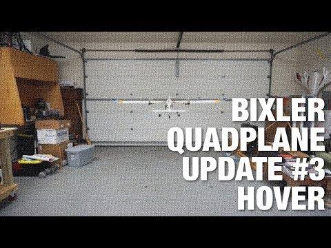 Bixler QuadPlane Update #3 - Garage Hover - UC_LDtFt-RADAdI8zIW_ecbg