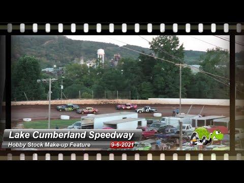 Lake Cumberland Speedway - Hobby Stock Makeup Feature - 9/6/2021 - dirt track racing video image