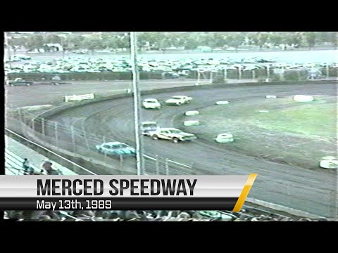 Stofle Classic at Merced Speedway | May 13th, 1989 - dirt track racing video image