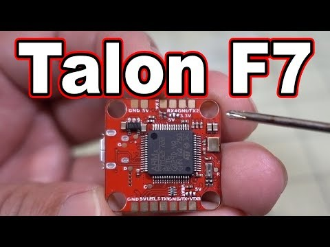 Talon F7 // Fully LOADED 20x20 F7 Flight Controller!  - UCnJyFn_66GMfAbz1AW9MqbQ
