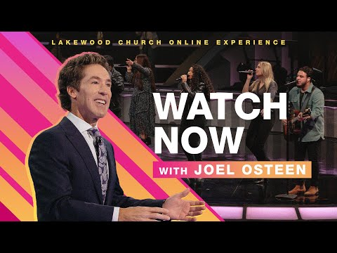 LIVE Lakewood Church   Joel Osteen  Sunday Service 8:30am