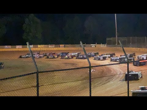 5/29/2021 Blue Ridge Outlaw Late Models Main Harris Speedway - dirt track racing video image