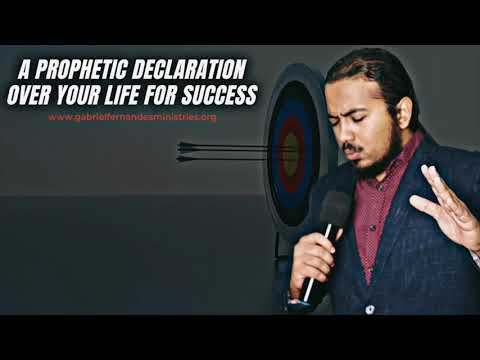 A SPECIAL PROPHETIC BLESSING OVER YOU FOR SUCCESS BY EVANGELIST GABRIEL FERNANDES