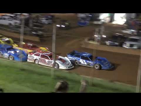 602 Late Model at Winder Barrow Speedway July 24th 2021 - dirt track racing video image