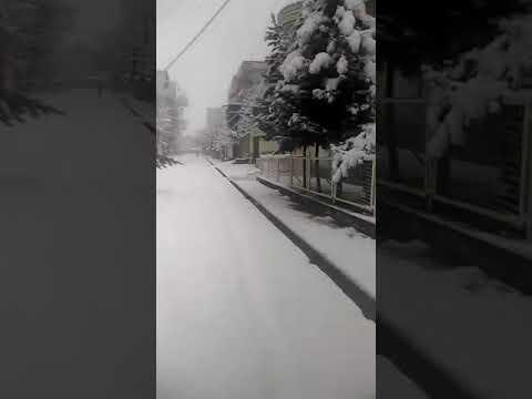 Quetta Receives First Snowfall Of Winter Season