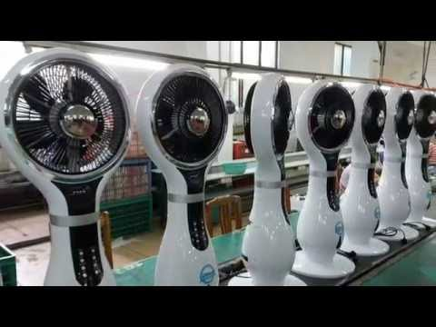 Water cooler misting fan / Air circulation cooling fan / Functional music misting fan - UCR3z3mAAUTzmhYI-JTA_Ghg