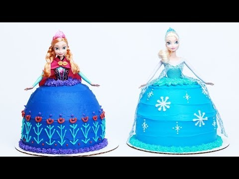 HOW TO MAKE A DISNEY PRINCESS SISTERS CAKE - NERDY NUMMIES - UCjwmbv6NE4mOh8Z8VhPUx1Q