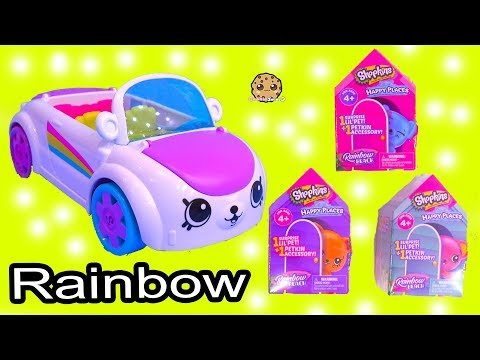 Rainbow Beach Petkinz Car ! Happy Places Shopkins Surprise Blind Bags - UCelMeixAOTs2OQAAi9wU8-g