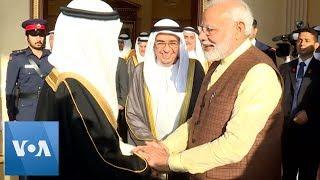 Bahrain PM Al-Khalifa Hosts Indian Counterpart Narendra Modi