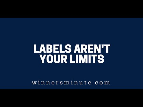 Labels Aren't Your Limits  The Winner's Minute With Mac Hammond