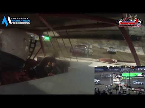 #22 Alex Minks WISSOTA Street Stock On-Board @ River Cities (6/18/21) - dirt track racing video image