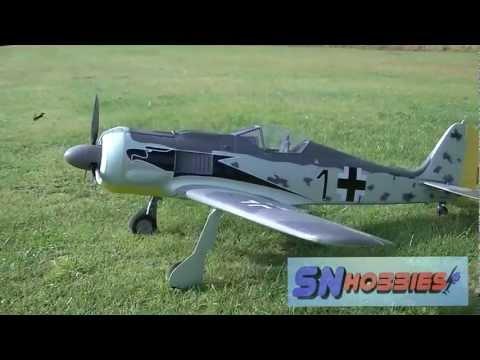 SN Hobbies - Hobbico / Flyzone FW-190 Focke-Wulf Flight Testing - UCqFj04rRJs6TJIwsVvCQK6A