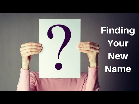 Finding Your New Name with Sean Holland - 02/16/20