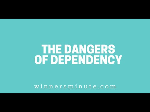 The Dangers of Dependency // The Winner's Minute With Mac Hammond
