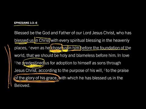 Ephesians 1:36 // Part 6 // Was Election Based on Foreknown Faith?