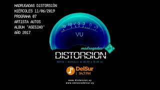 "MADRUGADAS DISTORSION #007  - AUTOS ""ASESINO"""