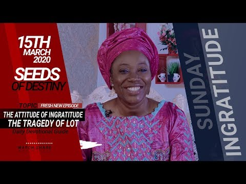 Dr Becky Paul-Enenche - SEEDS OF DESTINY - SUNDAY, 15 MARCH, 2020