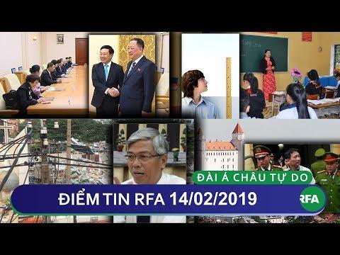 Điểm tin RFA tối 14/02/2019 | UBND TP HCM nói hầu hết dân Vườn Rau Lộc Hưng nhận tiền hỗ trợ