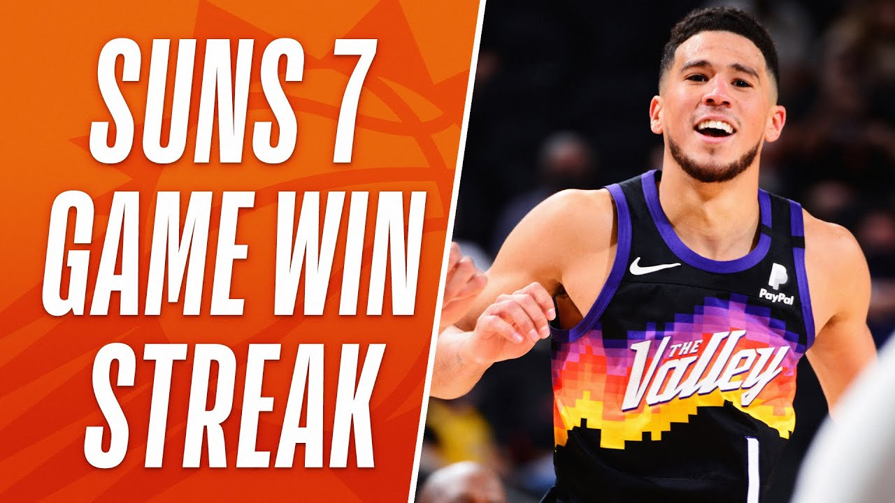 Best of Suns 7-Game Win Streak! 🔥