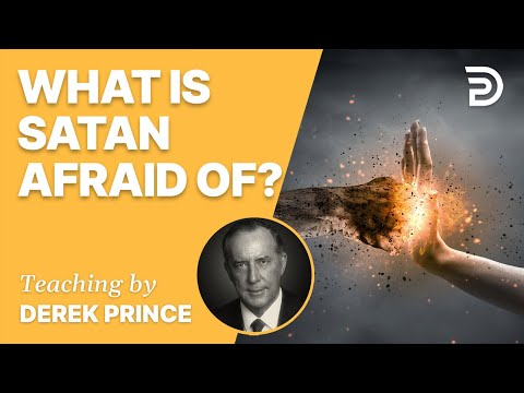 What is Satan Afraid of? #Shorts - Derek Prince