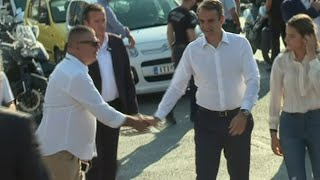 Konservativer Wahlgewinner verspricht Griechen Jobs und Wachstum | AFP