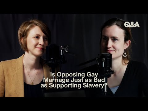 Is Opposing Gay Marriage Just as Bad as Supporting Slavery?