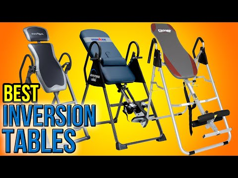 10 Best Inversion Tables 2016 - UCXAHpX2xDhmjqtA-ANgsGmw