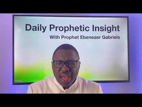 Prophetic Insight  Mar 3rd, 2021