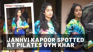 Hot Jhanvi Kapoor Sweats It Out At The Gym For Her Role Of A Army Officer In Her Next Film