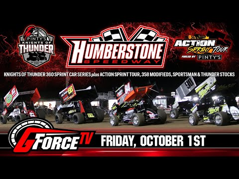 10/01/2021 | Pinty's Knights of Thunder | Humberstone Speedway - dirt track racing video image