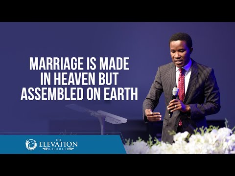 Marriage is made in heaven but assembled here on earth  Pastor Godman Akinlabi