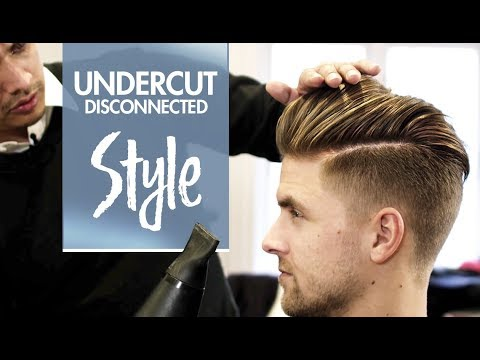 Disconnected Undercut ★ Men's hair & styling Inspiration ★ 4k hairstyle - default