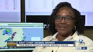 Tactical operations center helps Palm Beach County School District police protect students