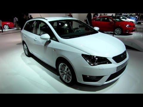 2013 Seat Ibiza ST - Exterior and Interior Walkaround - 2012 Paris Auto Show - automototube