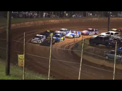 Stock 4a at Winder Barrow Speedway August 7th 2021 - dirt track racing video image