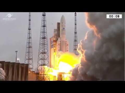 Blastoff! Arianespace Launches Satellites for Saudi Arabia and India - UCVTomc35agH1SM6kCKzwW_g
